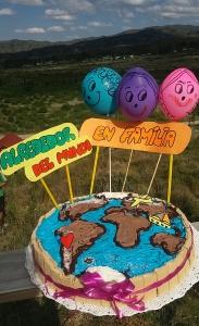 Hasta tuvimos torta !!!