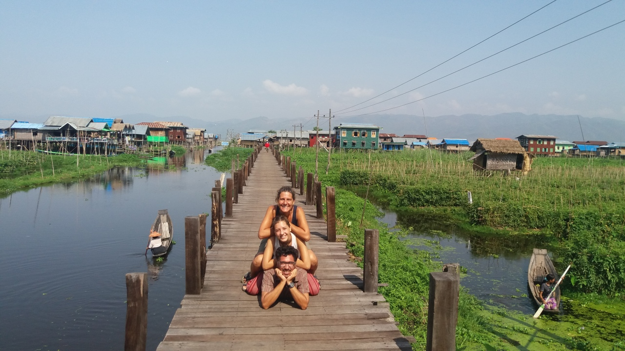 Trekking de Kalaw a LagoInle-MYANMAR